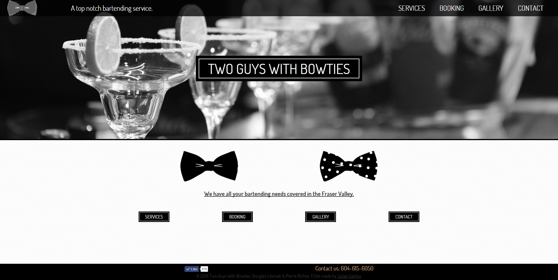 Two Guys With Bowties Website